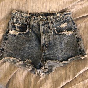 LF CAMAR highwaisted jean shorts